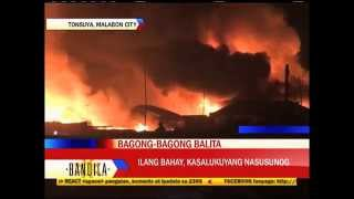 Fire hits houses in Malabon