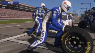 NASCAR Heat Evolution - PIT Stop Gameplay (PC HD) [1080p60FPS]