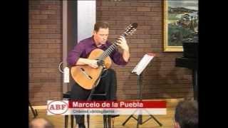 ÖKV Play - Gitarr för freden - Marcelo de la Puebla på besök i Växjö
