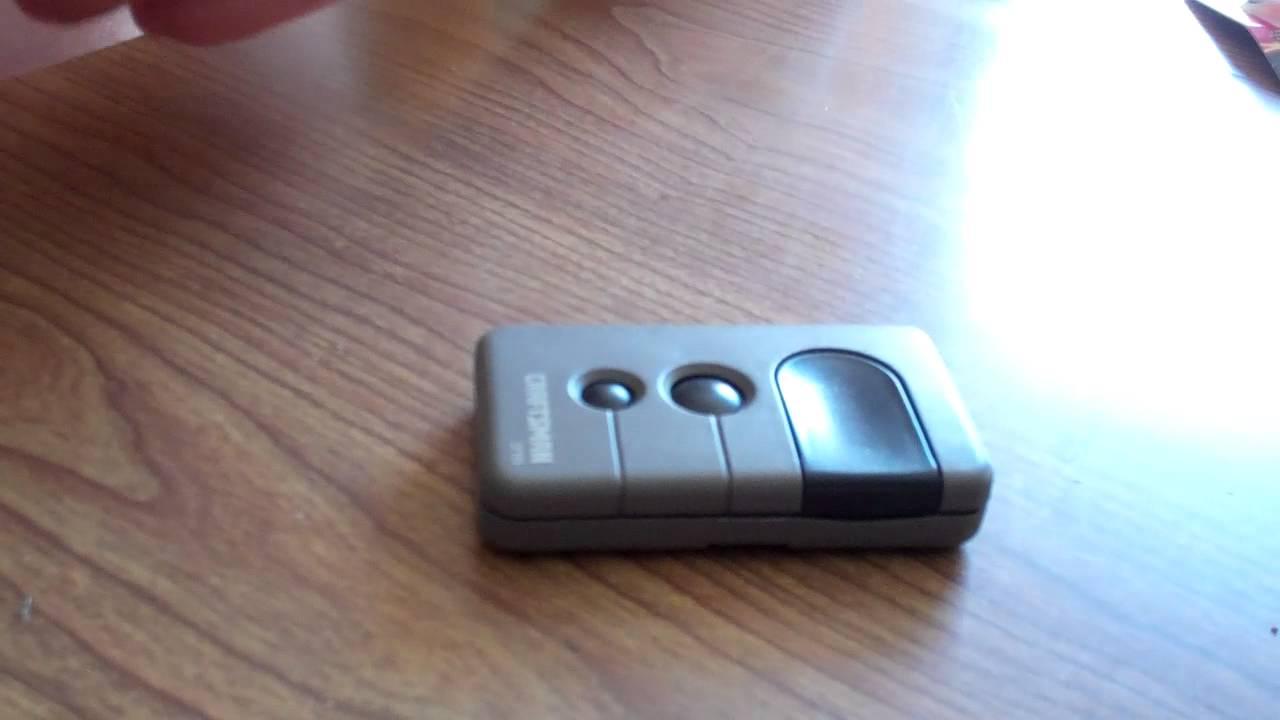 Craftsman 315 remote  YouTube
