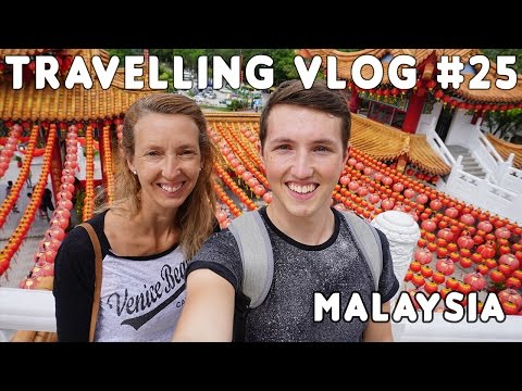 The most colourful place we've been | Malaysia | Travelling Vlog #25