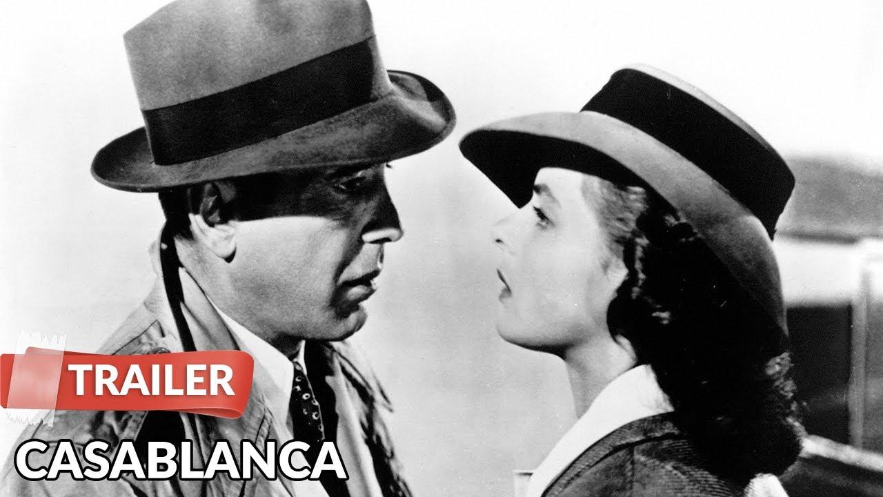 Casablanca 1942 Trailer HD | Humphrey Bogart | Ingrid Bergman