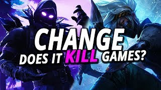 Is Change Killing Video Games?