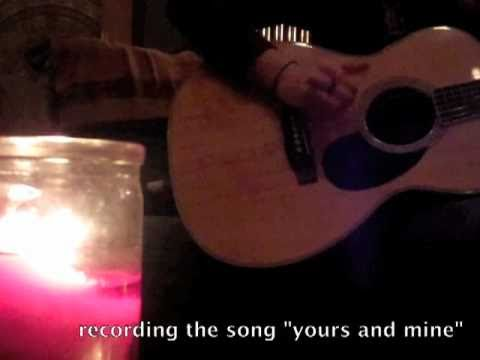 """Recording """"Yours and Mine"""" by Brooke Annibale"""