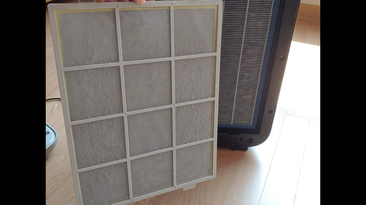 웅진코웨이 공기청정기 청소 필터교체 How to clean coway air purifier filter