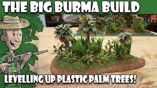 BBB#6 - Repainting Cheap Plastic Palm Trees!
