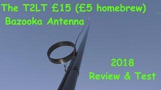 T2LT DX Vertical Bazooka - The Cheapest CB Antenna.