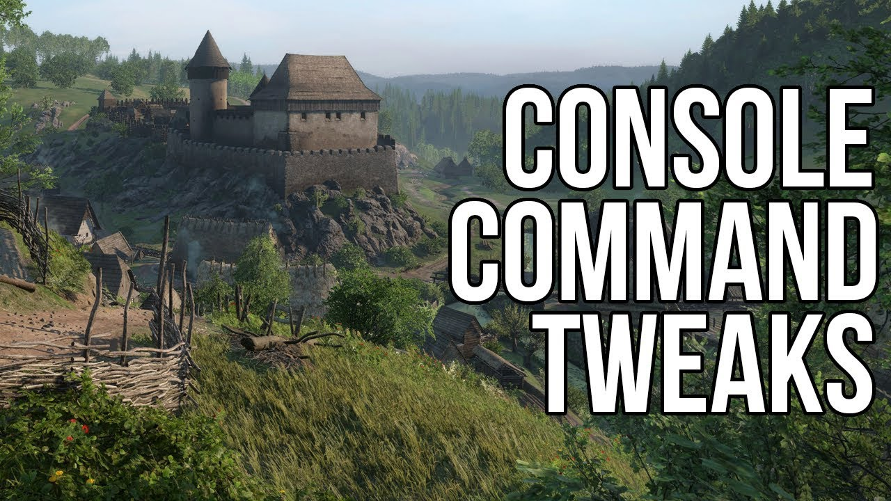 Kingdom come deliverance admin commands