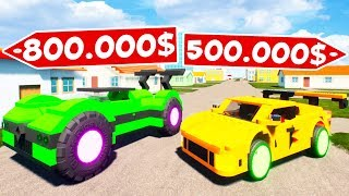 видео: БИТВА АВТОУГОНЩИКОВ В BRICK RIGS! УГНАЛ СПОРТИВНУЮ ТАЧКУ ЗА 1.000.000$! БИТВА ВОРОВ В БРИК РИГС!