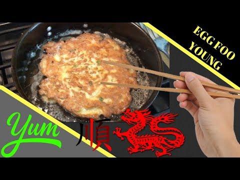 Egg Foo Young Recipe with Shrimp | Easy Shrimp Egg Foo Young Gravy Recipe