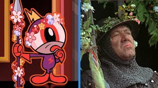 wander over yonder monty python and the holy grail reference