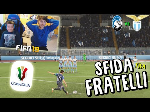 ATALANTA vs LAZIO - FINALE COPPA ITALIA! - Fifa 19