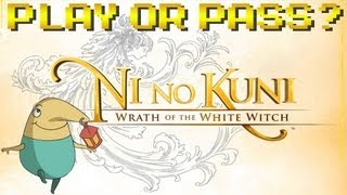 Play or Pass? - Ni No Kuni; Wrath of the White Witch - PS3 (Review/Gameplay)