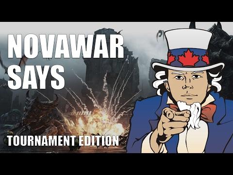 NovaWar Says Tournament 01/17 Game 3 - Sponsored By JORD   Xsplit