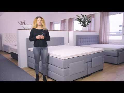 Elektrisch Verstellbares Boxspringbett Mit Bettkasten