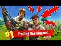 Fortnite Funny Moments: Trolling Random Teammates! (Fortnite Battle Royale)