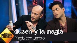 Rami Malek vive la pasión de Jandro por Queen en su truco de magia - El Hormiguero 3.0