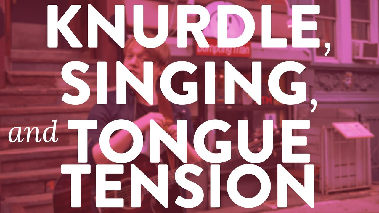 """The Knurdle, Singing, and Tongue Tension"" - Quick Singing Tips Ep. 32 Cover"