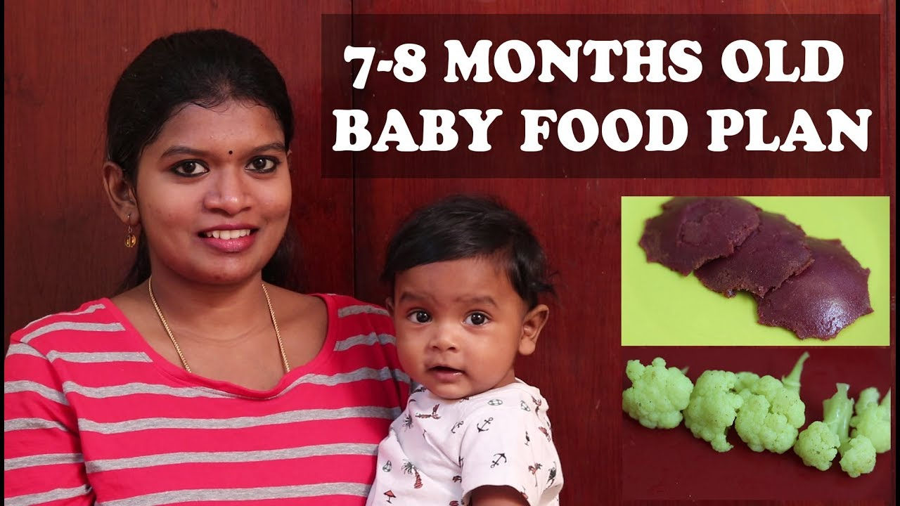 7-8 MONTHS OLD BABY FOOD PLAN in tamil |5 EASY BABY RECIPES |FINGER FOODS  FOR BABIES|