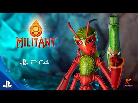 MilitAnt - Launch Trailer | PS4