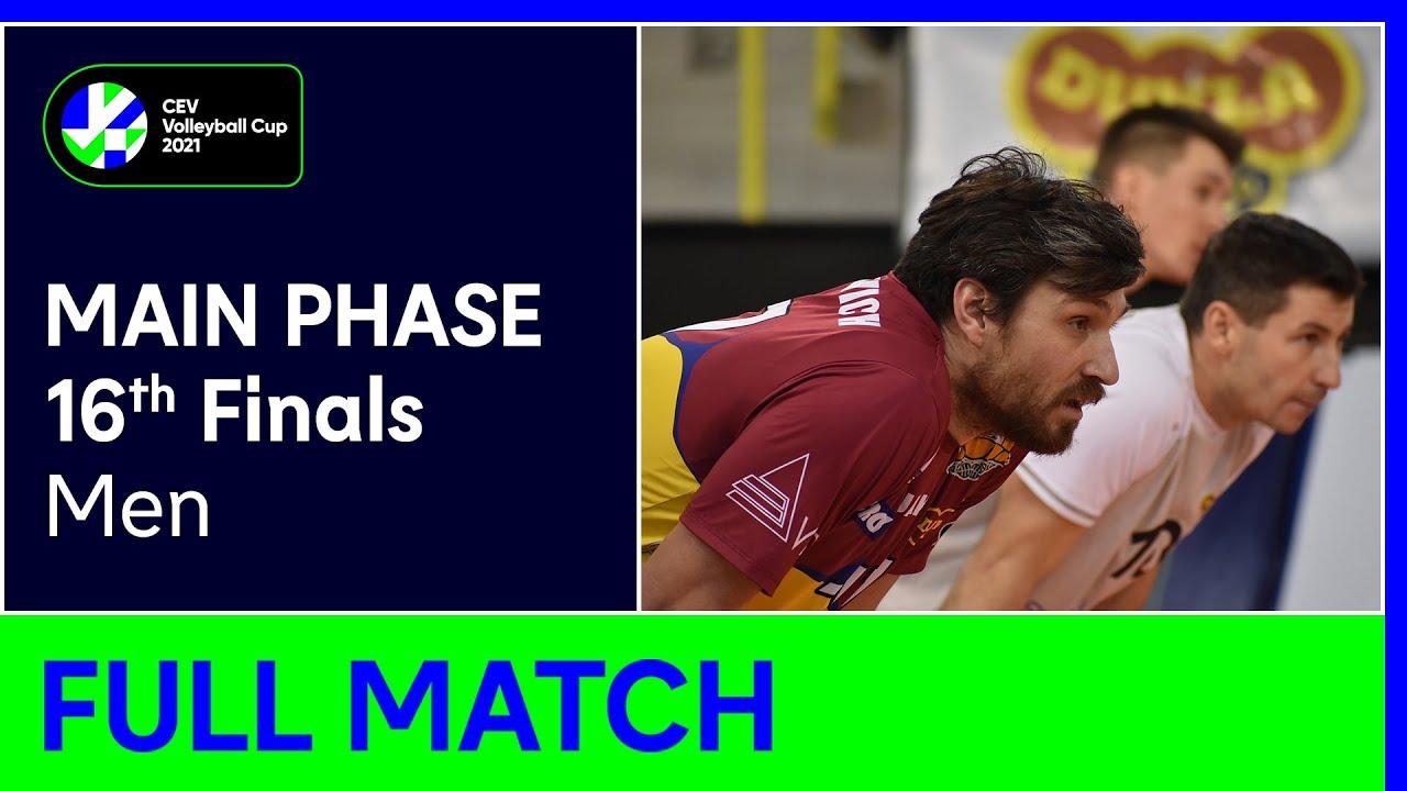 VK Dukla LIBEREC vs. SK Zadruga AICH/DOB - CEV Volleyball Cup 2021 Men 16th Finals