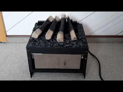 DIY artificial fireplace insert (water steam) optimyst