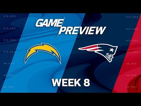 Los Angeles Chargers vs. New England Patriots | Week 8 Game Preview | Move the Sticks