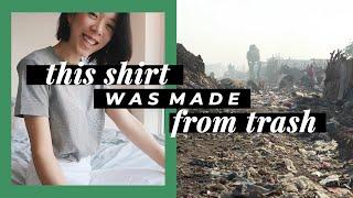 كيفية جعل القميص من القمامة | WITHWENDY