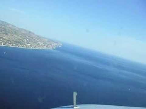 Visual Approach Reggio Calabria Runway 33 REAL