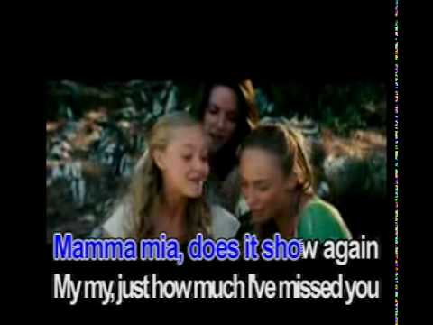 Mamma Mia - Meryl Streep (Karaoke)