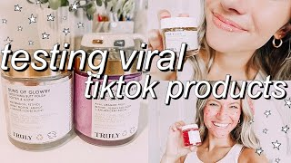 SHOULD YOU BUY THESE VIRAL TIKTOK PRODUCTS? | the truth about Truly Beauty