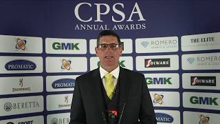 CPSA Awards 2019 - Simon Arbuckle, Coach Of The Year