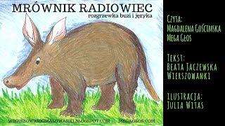 Mrównik radiowiec 🎙 🎧 (rozgrzewka buzi i języka) | BAJKA | megaglos.com i wierszowanki