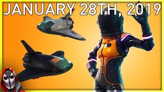 DARK VANGUARD IS BACK! January 28th New Skins || Daily Fortnite Item Shop