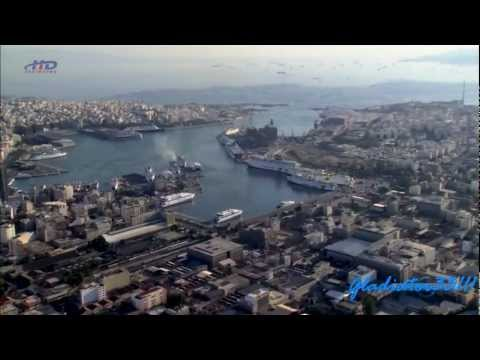Aerial viewing of Greece (Full HD) - GreekEscapes.com
