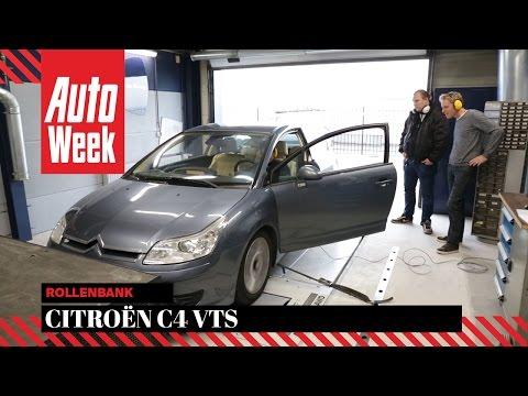 Citroën C4 Coupé VTS (2005) - Op de rollenbank - AutoWeek