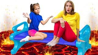 The Floor is Lava - Children Song by Hey Dana