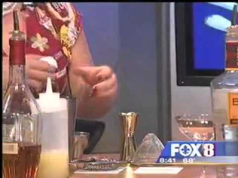 Cocktail Bar at Windsor Court on WVUE 2.3.12