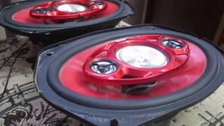 Автомобильные колонки SONY XPLOD SX-609G(Предпродажное демо видео демонстрирующее рабочее состояние акустики. Подробнее на сайте avtousilok.kz., 2017-01-02T06:14:05.000Z)
