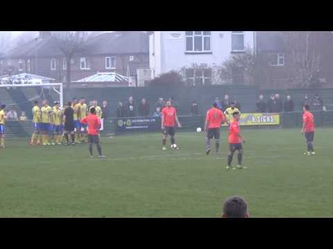 Mitchell Tolley | Tolley scores from a freekick including behind the goal view [17.12.16]