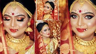 || BRIDAL MAKE UP || MAKE UP DONE BY MUA Tania Sarkar Paul || BRIDAL MASTER CLASS DEMO ||