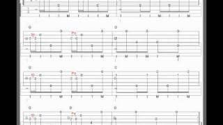 How to read banjo tab - Chord Foundation.wmv