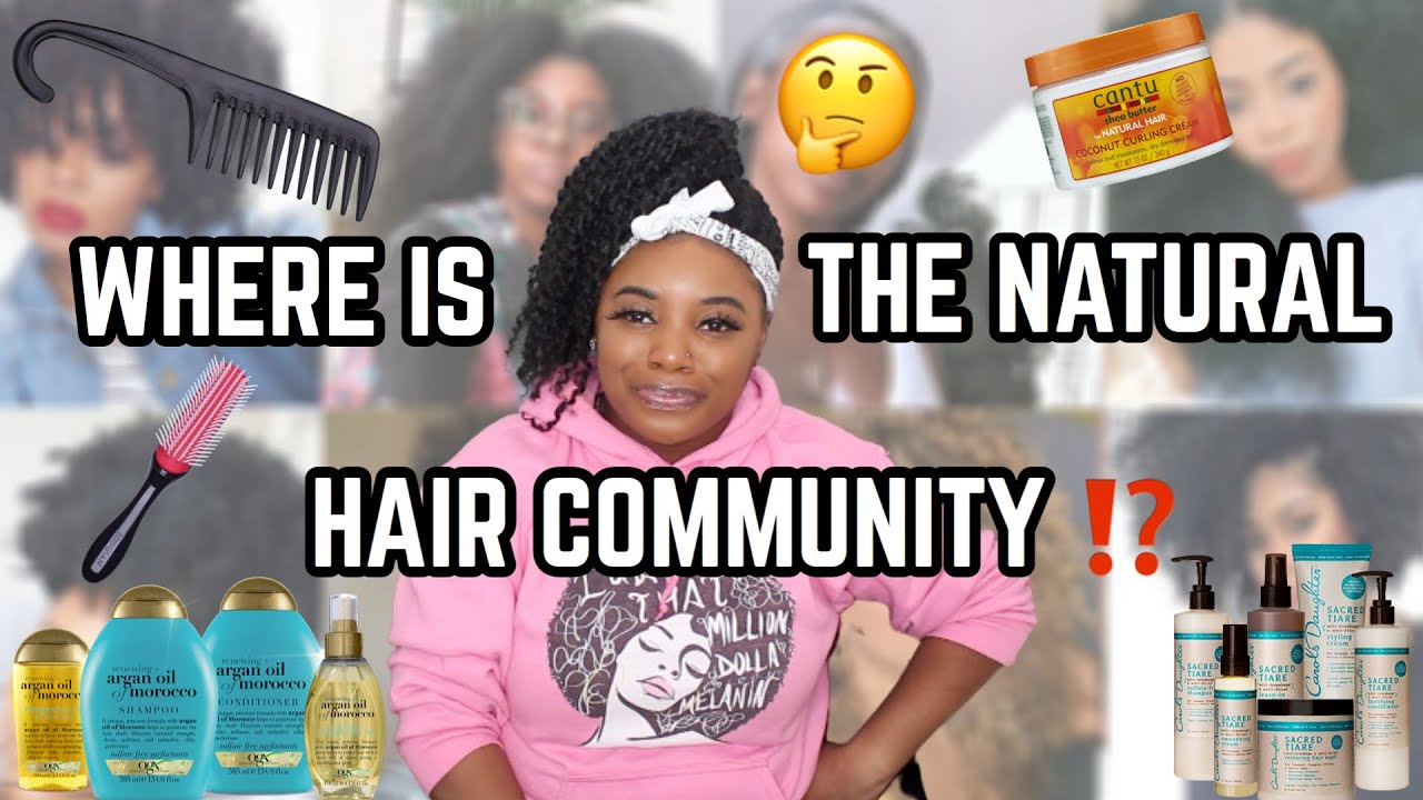 THE FALL OF THE NATURAL HAIR COMMUNITY, WHAT HAPPENED? | Thee Mademoiselle ♔