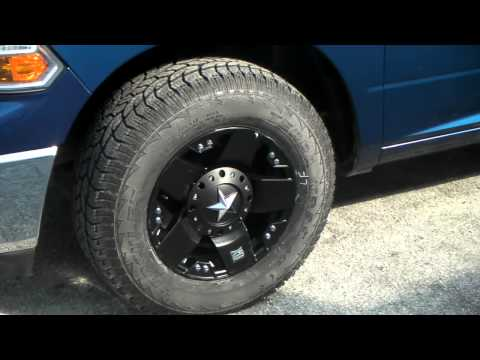 www.DUBSandTIRES.com 17 Inch XD Series Rockstar Wheels 2010 Dodge Ram Matte Black Wheels