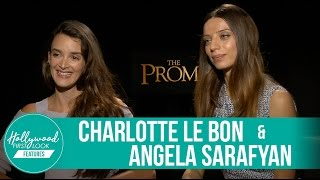 Charlotte Le Bon & Angela Sarafyan Incredible Experience | The Promise (2017)