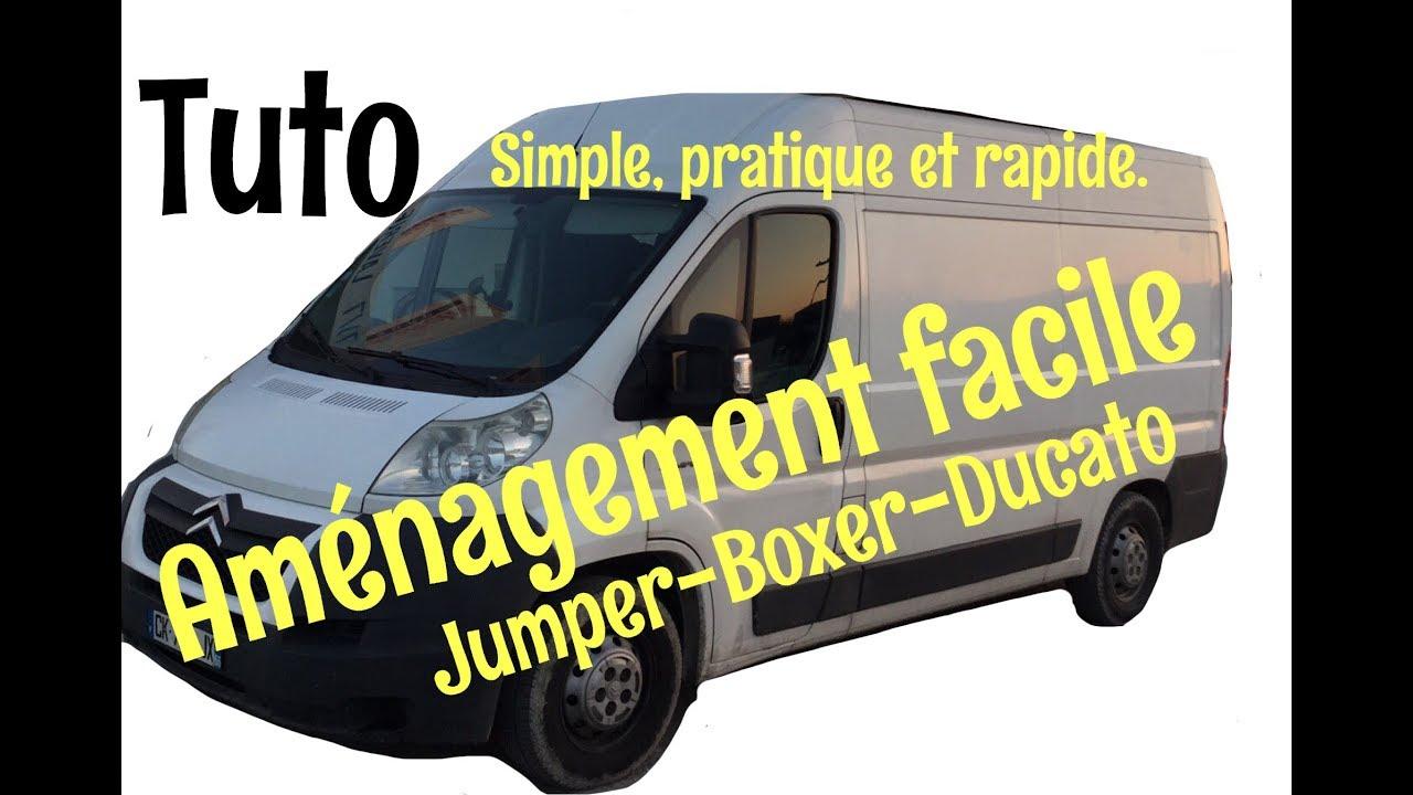 Comment Amenager Un Jumper En Camping Car