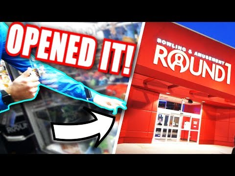 HE DID THIS AT THE ARCADE... || So Many WINS at ROUND 1!!
