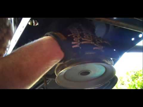 Bolens Riding Mower Drive Belt Replacement  YouTube