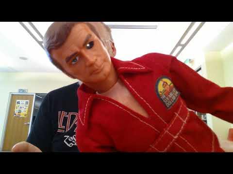 1:Kenner-The Six Million Dollar Man- Figures Video Tutorial (1975:1st-The Engine Block)