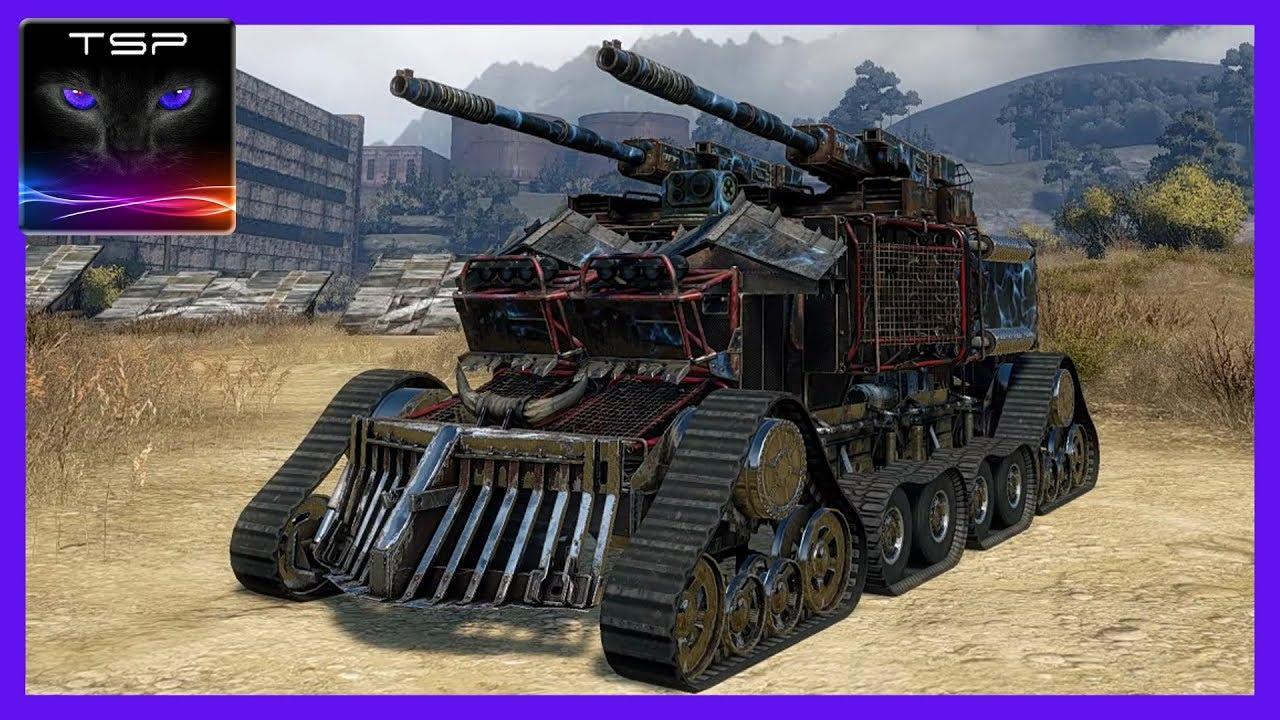 Crossout #30 - Massive 2x BC-17 Tsunami Cannons - Build ...